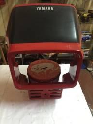 Carenagem frontal DT180 N Vermelho Original Usado