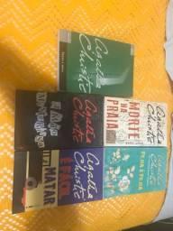 Lote 11 livros Agatha Christie em ótimo estado