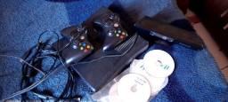 Xbox 360 completo otimo estado de conservacão