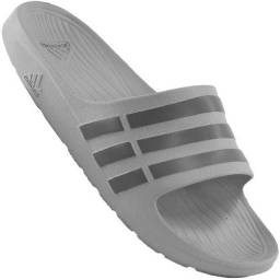 Chinelo Adidas Duramo Slide Cinza Original
