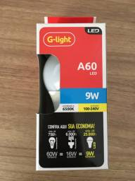 Lâmpada G-light A60 led 9w