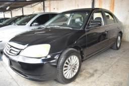 Honda civic 2002 1.7 ex 16v gasolina 4p automÁtico