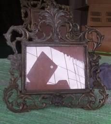Porta retrato amtigo de bronze
