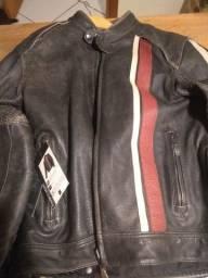 Jaqueta de couro Triumph original