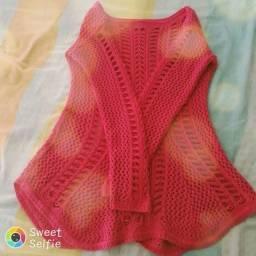 blusa em tricô