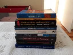 Livros de administração e engenharia