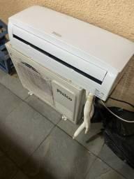 Vendo ar condicionado de 9.000 Btus pouquíssimo usado , em estado de zero