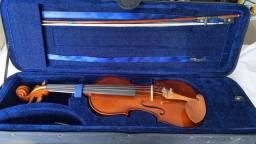 Título do anúncio: Violino + Acessorios + Case Luxo