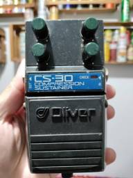 Pedal Analógico Guitarra Oliver Cs-30 Compression Sustainer