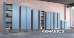 Título do anúncio: armario de aço- roupeiro- estante-arquivo- gaveterio- arquivo- entrega rápida