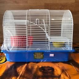 Gaiola para hamster meia lua