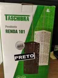 Luminária pendente renda 101 tashiba