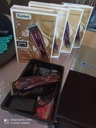 Máquina de cortar cabelo profissional Kemei 2600