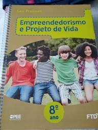 Livro  Empreendedorismo e Projeto de Vida 8º ano