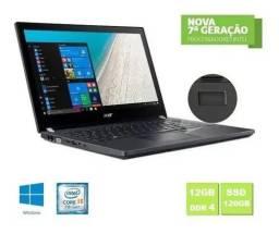 Notebook Acer Travel Mate I5-7200u 12 Giga  com SSD 500GB
