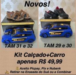 Título do anúncio: Kit calçado mais carro