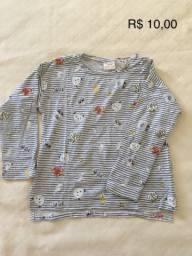 Blusa Zara tamanho 6