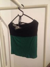 Blusa feminina verde tamanho M