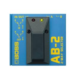 Pedal A-b Box Para Guitarra Ab2 Boss 1 Ano De Garantia C/ Nf