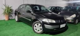 Renault megane 2008 sedan dynamique 1.6  mecanico flex. couro top