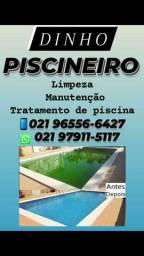 Limpeza e manutenção piscinas