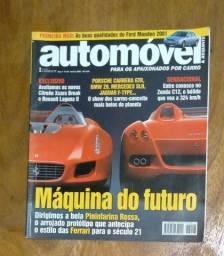 Título do anúncio: Revista Automóvel E Requinte - Ano 4 - N° 48 - Janeiro 2001