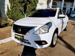 Nissan Versa 1.6 S Branco Flex Completo Otimas Condicoes Doc Ok