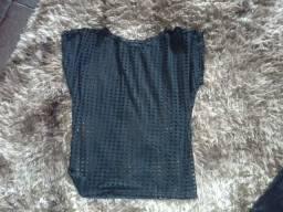 Blusa preta tamanho M