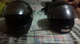 2 capacetes ebf usado