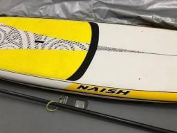 Prancha de SUP - StandUp Paddle - Naish - Nalu 10´10 e Remo Werner e Capa Termica