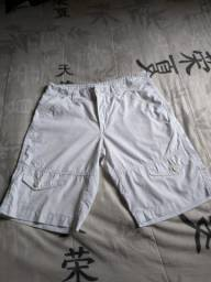 Short Blinclass original na cor branco
