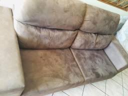 Vendo sofá 3 lugares ótimo estado e retratil
