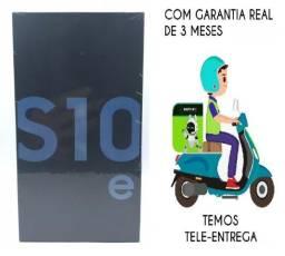 Promoção-Samsung Galaxy S10e Azul Lacrado, Garantia e Nota fiscal