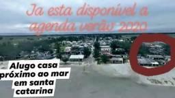 Alugo beira mar Santa Catarina