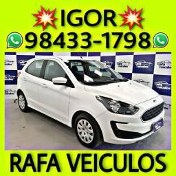 Ford Ka se 1.0 Flex 2019 1 mil de entrada falar com IGOR RAFA VEICULOS pp