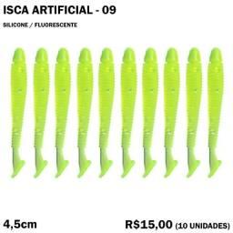 Isca de Silicone (10 Unidades) - Modelo 09