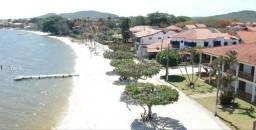 Casa Frente praia-Piscina Cond. fechado. Local - Praia Linda-4 qtos suites