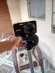 Câmera Sony + tripé