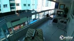 Apartamento de 3 quartos com mais uma DCE e mobiliado na Praia do Morro