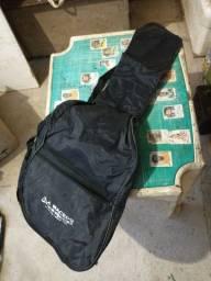 Vendo 1 case, capa, bag de violao 1 case de guitarra
