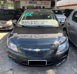 GM Chevrolet Prisma Joy 1.0 Cinza Completo