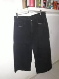 Calça pantacurt preta