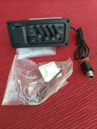 Kit Captador + Equalizador EQ-7545R / Violão + 01 afinador (brinde)
