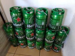 Barril vazio de Heineken