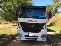 Conjunto Carreta Caçamba Mercedes