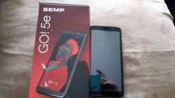Celular Semp Go 5e, 4 meses de uso