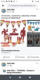 Festa Personalizadas