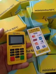 Maquina de cartão minizinha NFC  atacado e varejo