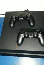 Título do anúncio: Playstation 4 1TB + 2 Manetes