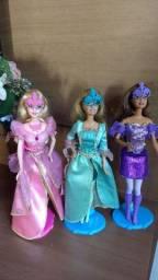 Barbie 3 mosqueteiras( 100 cada)